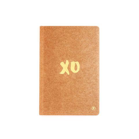 A5 XO Journal - Kraft/Gold – THAT LITTLE SHOP