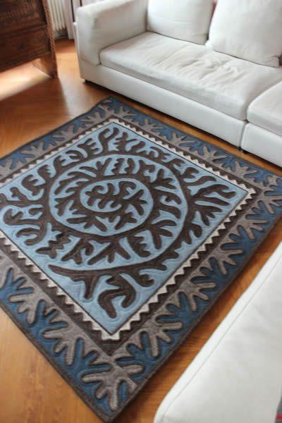 felt rugs made in Kyrgyzstan online at Shirdak