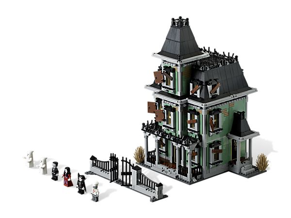 If you don't mind dipping in to your kid's college fund for Legos, this set is so cool!  After my son built it, I begged him to let me leave it out as a Halloween decoration.