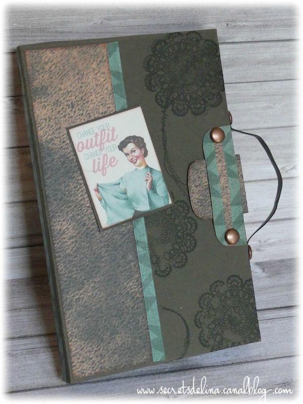 Flipbook façon valisette couture vintage #secretsdelina