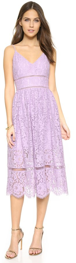 Cynthia Rowley Lace Tea Dress