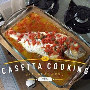 Il Pesce all'eoliana è una ricetta facile, dai pochi ingredienti ma estremamente gustosa. Esalta il gusto del pesce e dà risultati davvero ottimi!