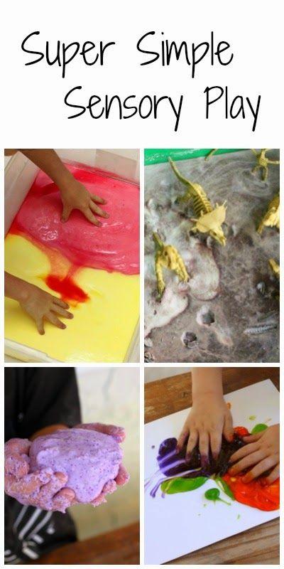 Simple Sensory Play for Kids