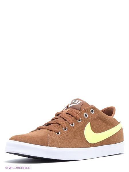Кроссовки коричневые nike