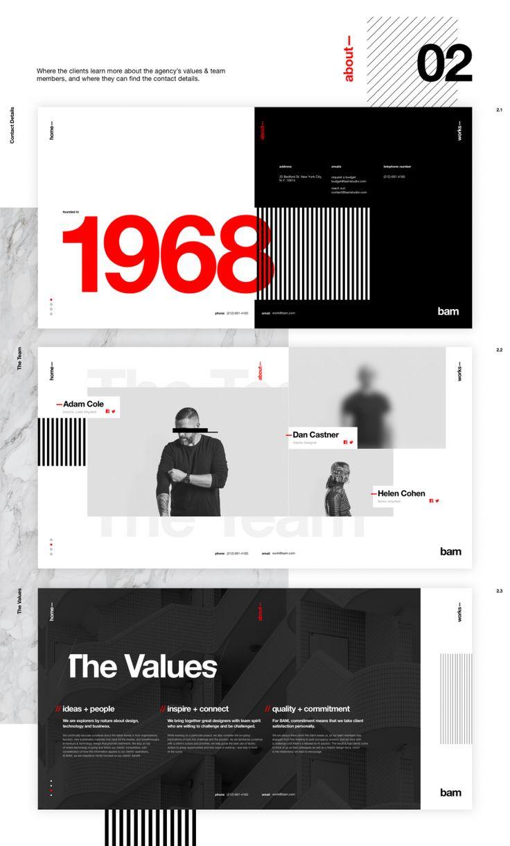 Poster design layout ideas - Bam Concept