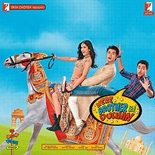 """Mere Brother Ki Dulhan"" (2011).  (Ali Zafar, Imran Khan, Katrina Kaif, Tara D'Souza)"