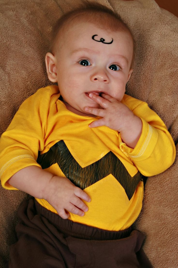 no sew halloween costumes charlie brown - Simple Toddler Halloween Costumes