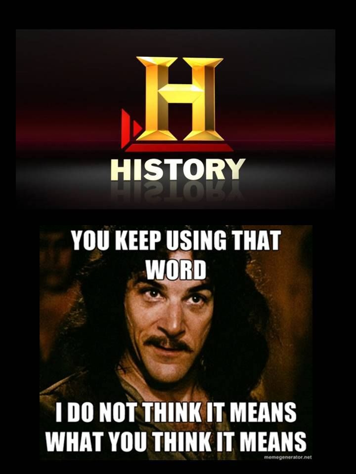 I love this. History Channel has gone down the tubes as of the last few years...