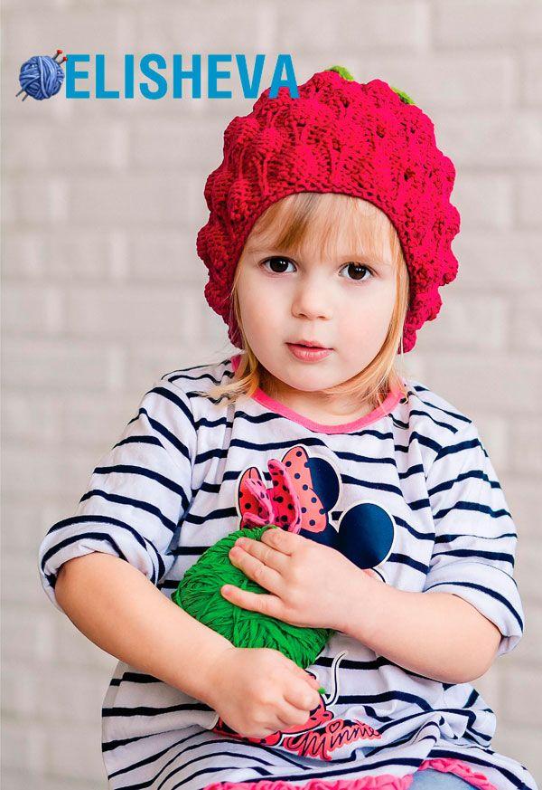 20 самых популярных детских шапочек вязаных спицами в 2015 году