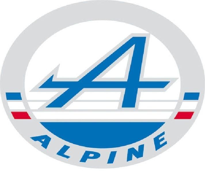 Alpine Renault Nouveau logo 2012