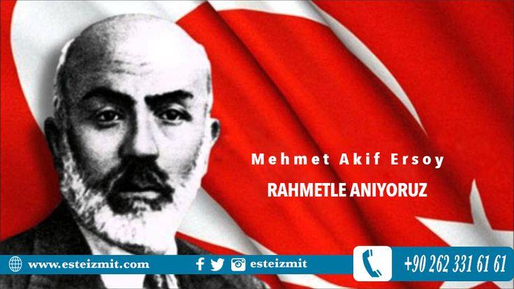 """İstiklal Marşımızın yazarı Mehmet Akif Ersoy'u rahmetle anıyoruz...Şairin de dediği gibi """"Allah bir daha bu milleti İstiklal Marşı yazmak zorunda bırakmasın"""" #mehmetakifersoy #istiklalmarsı"""