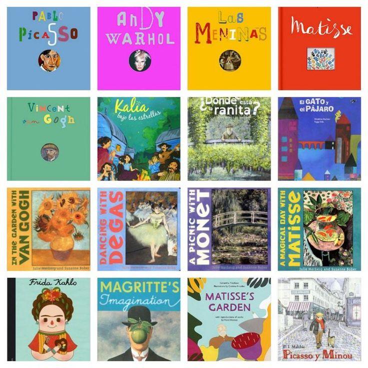Libros de arte para ninos dos: Arte pictorico