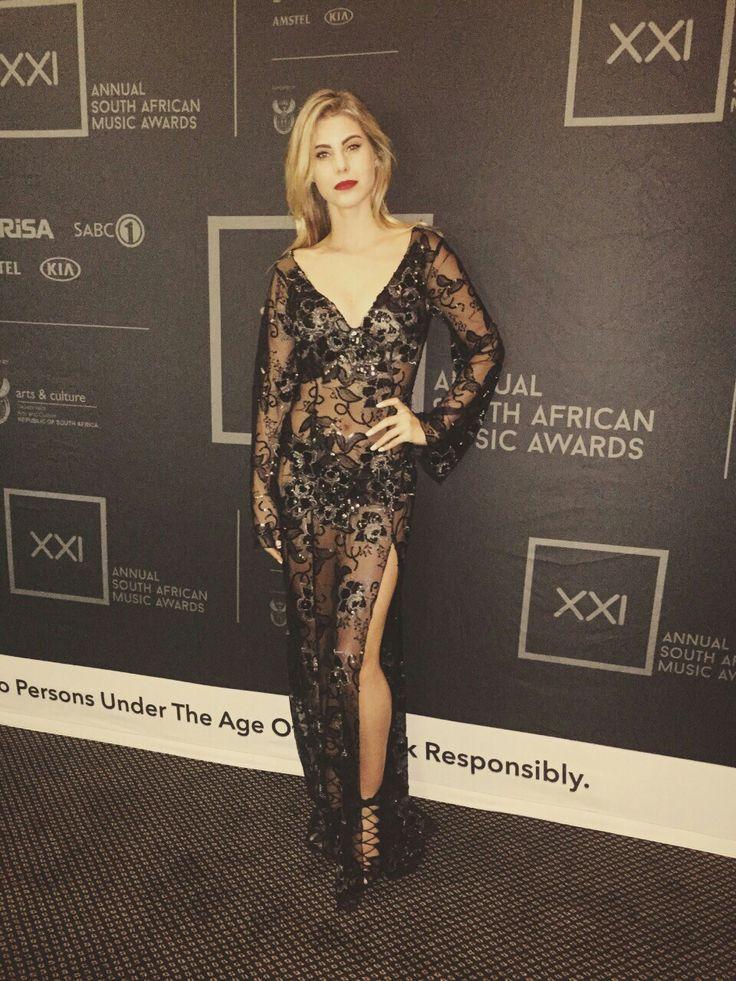 Evening dress for Music Awards