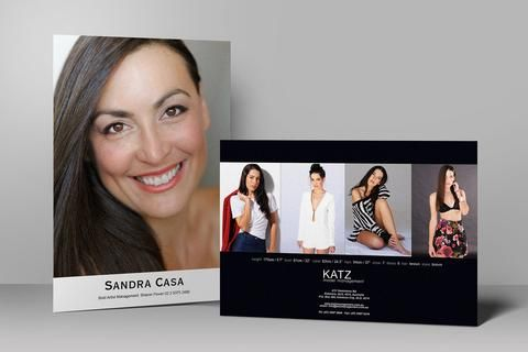Model & Actor Cards