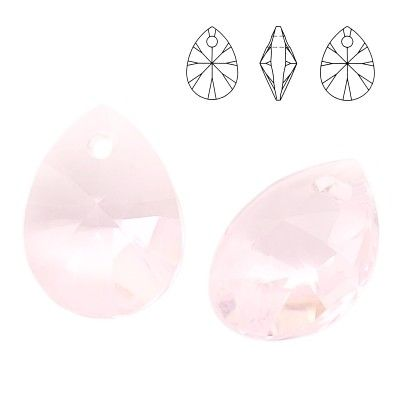 6128 Mini Pear 8mm Rosaline 5 pieces  Dimensions: 8,0mm Colour: Rosaline 1 package = 5 pieces