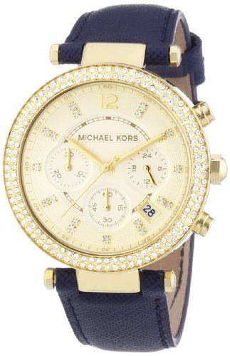 Michael Kors Women's Parker Blue Watch MK2280 https://www.carrywatches.com/product/michael-kors-womens-parker-blue-watch-mk2280/ Michael Kors Women's Parker Blue Watch MK2280