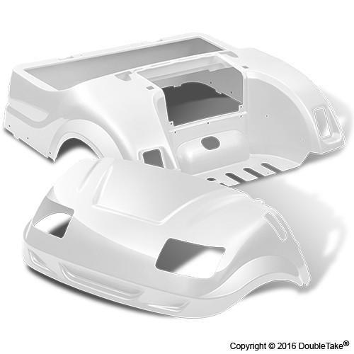 Yamaha DRIVE Golf Cart Vortex Replacement Body & Light Kit - WHEELZ Custom…