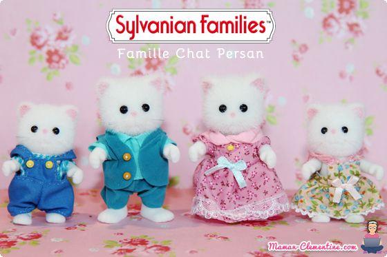 Le blog de maman Clémentine: [Sylvanian Families] La famille chat persan