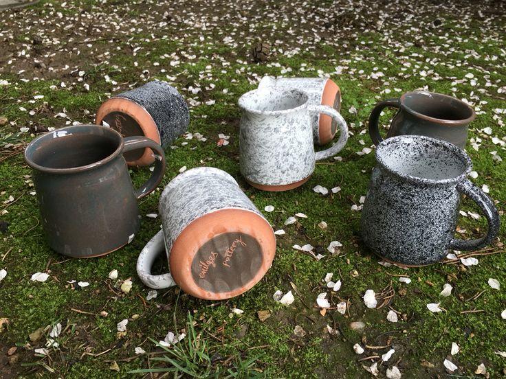 emilges pottery Coffee mugs