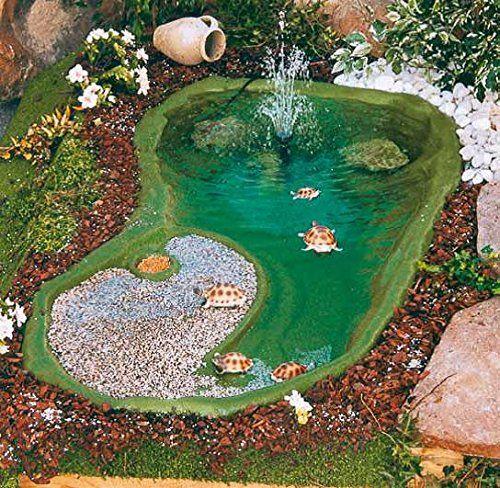 Oltre 20 migliori idee su laghetto per tartarughe su for Kit laghetto da giardino