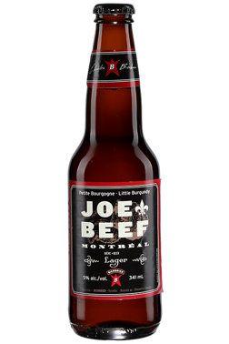 Joe Beef Lager #biere #etedespremieresfois