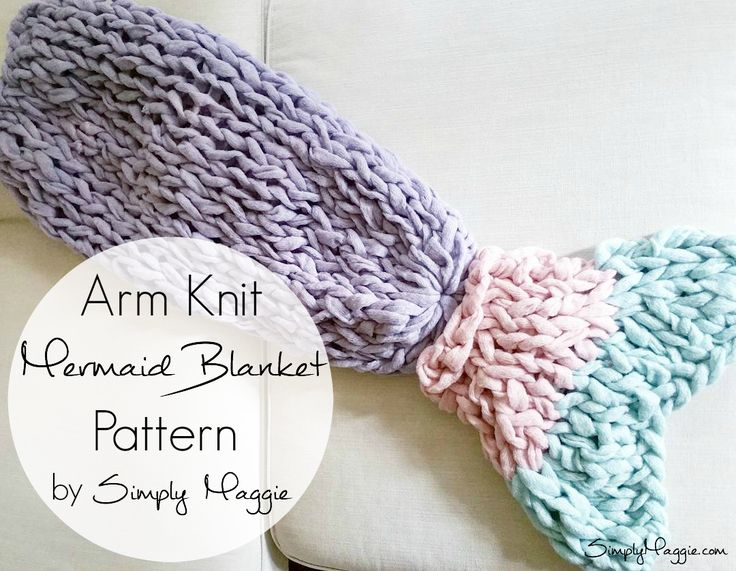 Create this master piece in just a couple of hours with arm knitting! Here's what you'll need. Materials: 7 Skeins of Couture Jazz yarn in the color Lavender 1 Skein…