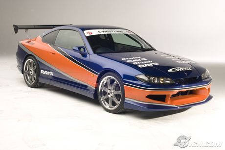 Nissan Silvia S15 - The Fast and The Furious (2001), Tokyo Drift (2006), Furious 7 (2015)
