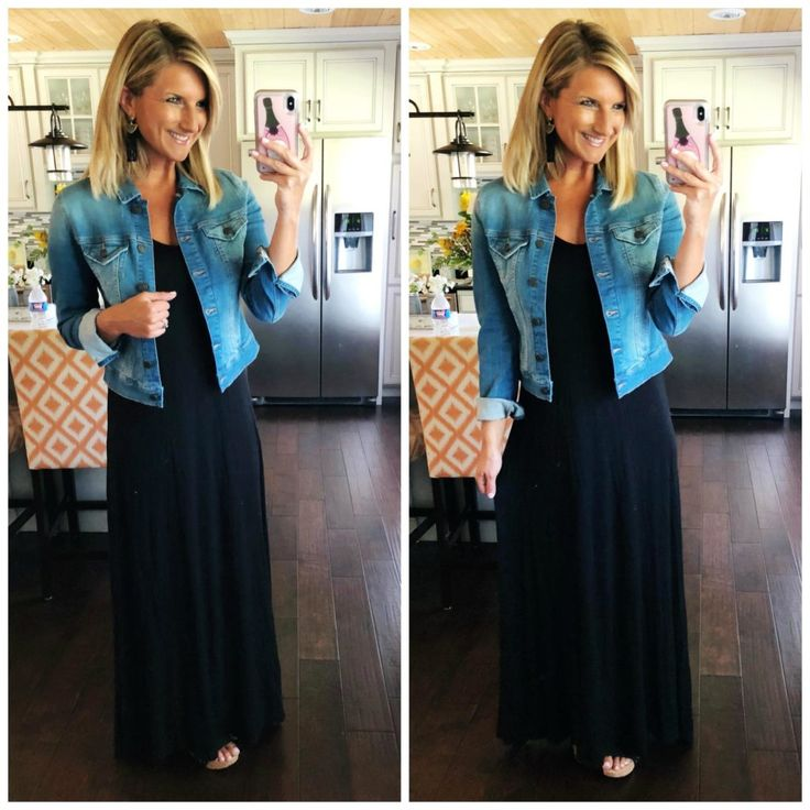 Perfect Black Maxi Dress for a wedding, work, event or everyday // Closet Staple…
