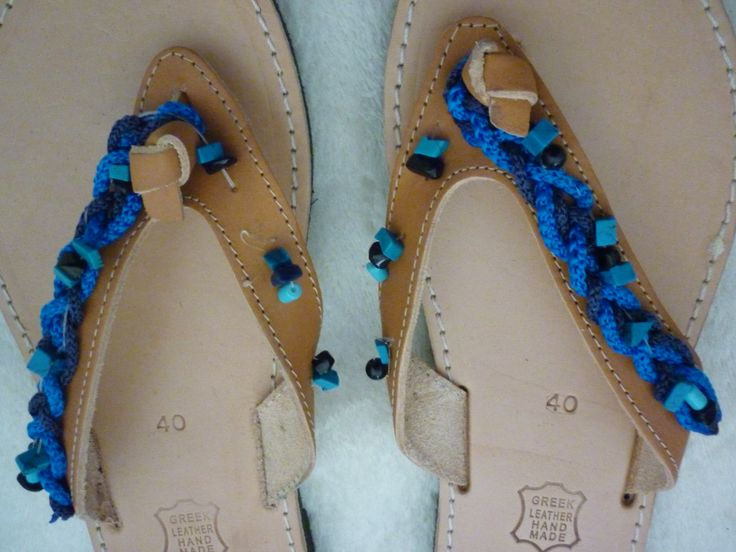Handmade Flip Flops by Maria