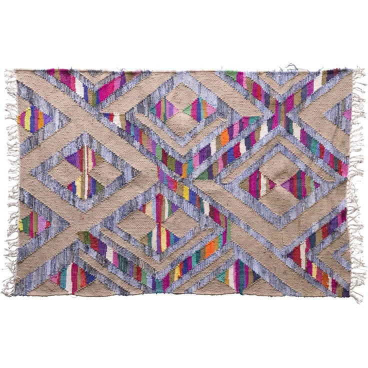 These vibrantly coloured cotton rugs will give your favourite room an amazing splash of colour. Available in a variety of sizes, designs and colours.
