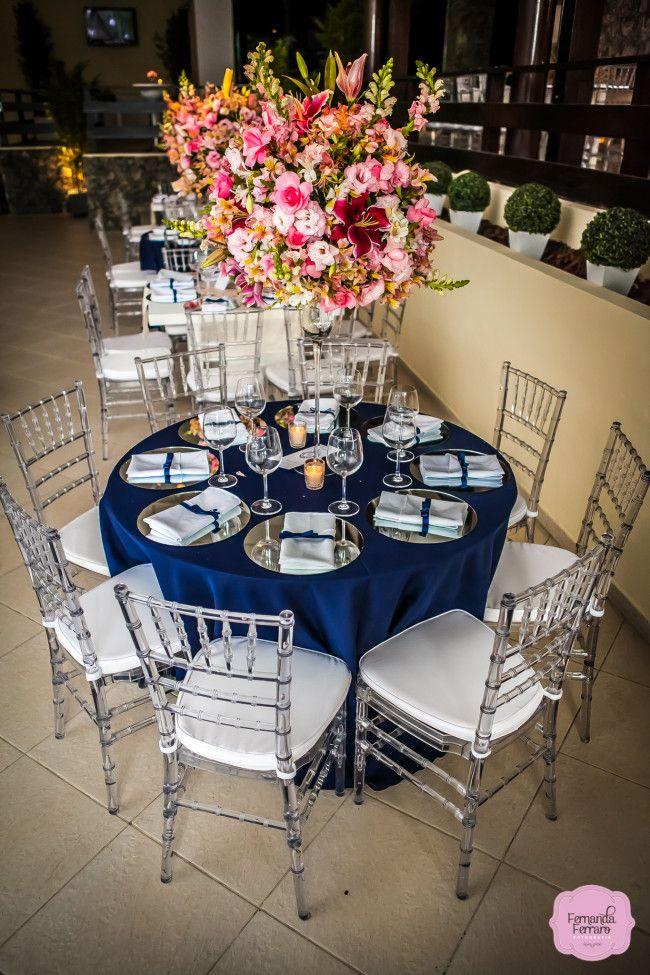 casamento azul marinho e rosa more wedding decoration casamento azul