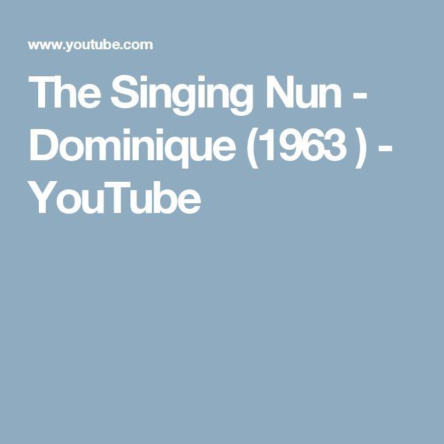 The Singing Nun.. Dominique.. 1963