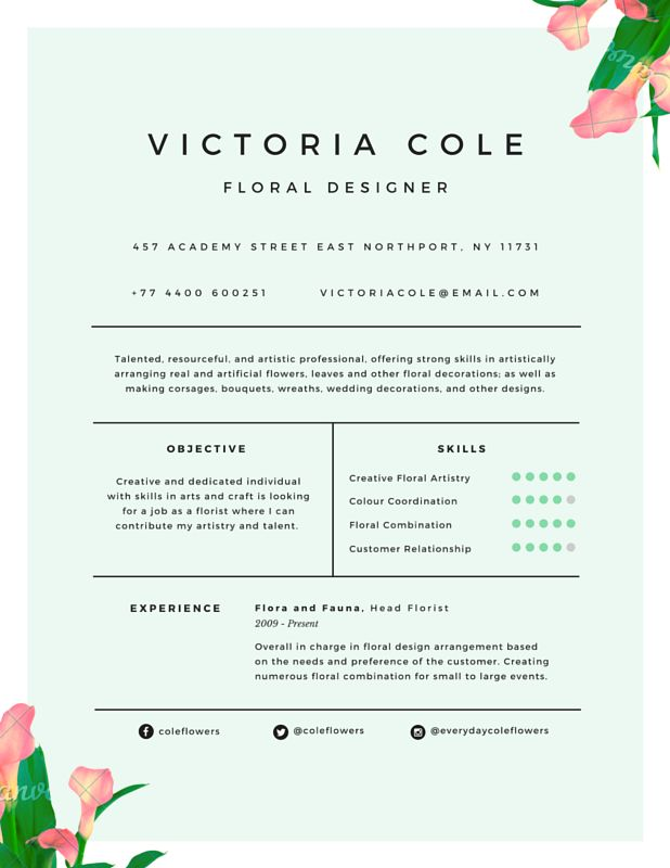 119 best RESUMES images on Pinterest Resume ideas, Cv template - resume sample for part time job