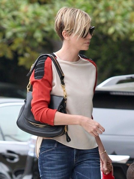 Charlize Theron out for lunch at BLD in Hollywood, California, September 2013.