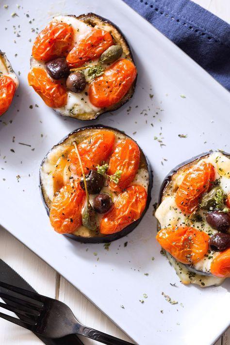 Melanzane al forno: semplici e gustose. Perfette anche come antipasto! [Baked eggplant with tomato and cheese]