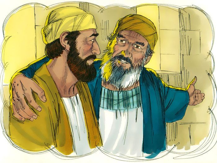 A son is deeply resentful when his father welcomes home his wayward younger brother. (Luke 15:11-32): Slide 18