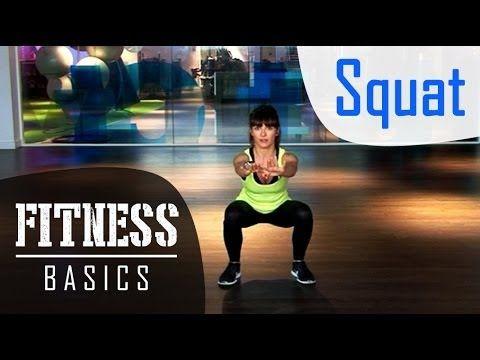 Fitness Basics : comment faire des squats ? - YouTube