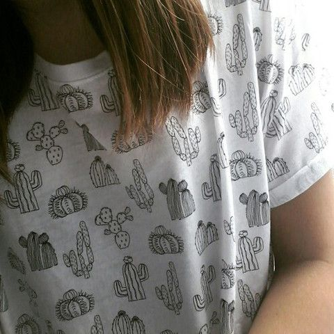 Cactus All Over T shirt - Fresh-tops.com