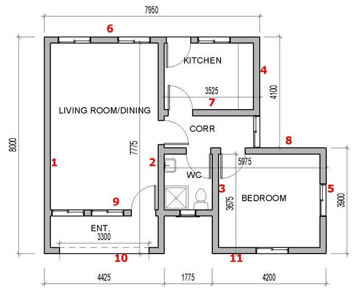 How To Calculate Number Of Blocks For Your Building Project In 2 Simple Steps Nigerianhouseplans Building Plan 4 Bedroom House Plans How To Plan