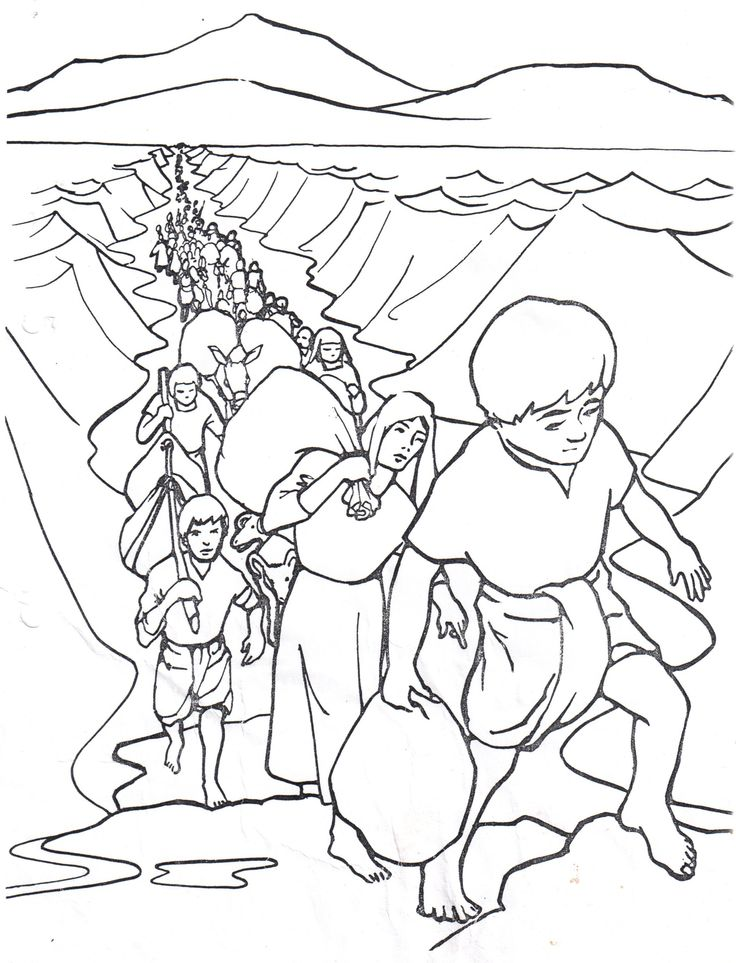 Bildergebnis Fur Joseph Sold Into Slavery Coloring Pages
