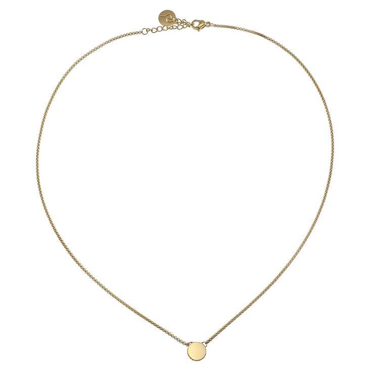Ellinor Halsband 42.5-45.5cm, Guld, Edblad