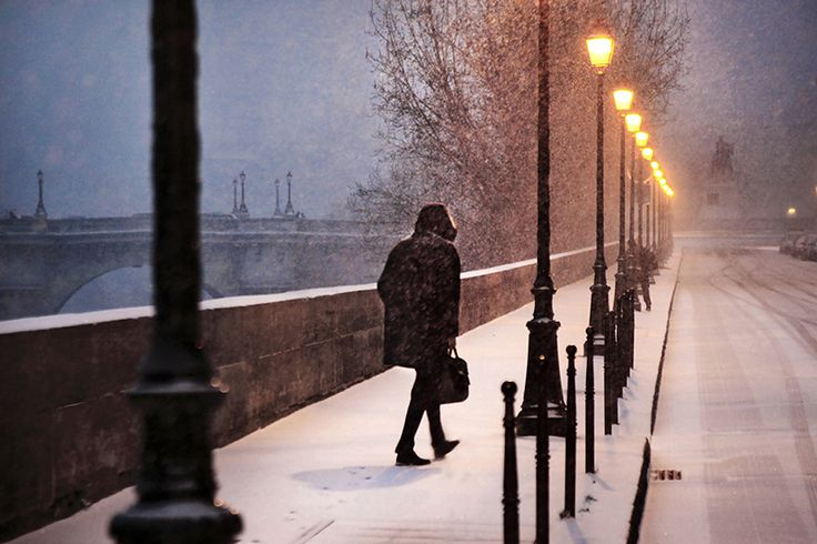 In the snow: Winter Snow, Paris, Photographychristoph Jacrot, Favorite Places, White Satin, Beautiful Photography, Rivers, Photography Christopher Jacrot, Favorite Photography