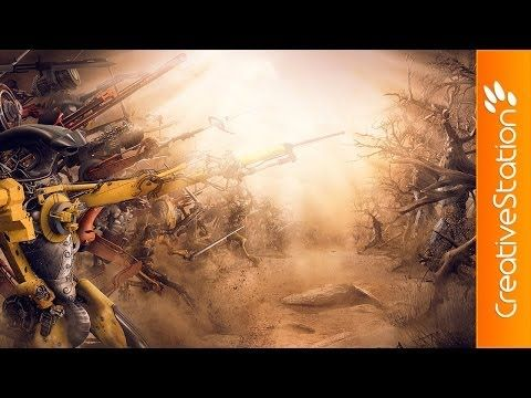 ▶ The last battle - Speed art ( #Photoshop ) | CreativeStation - YouTube