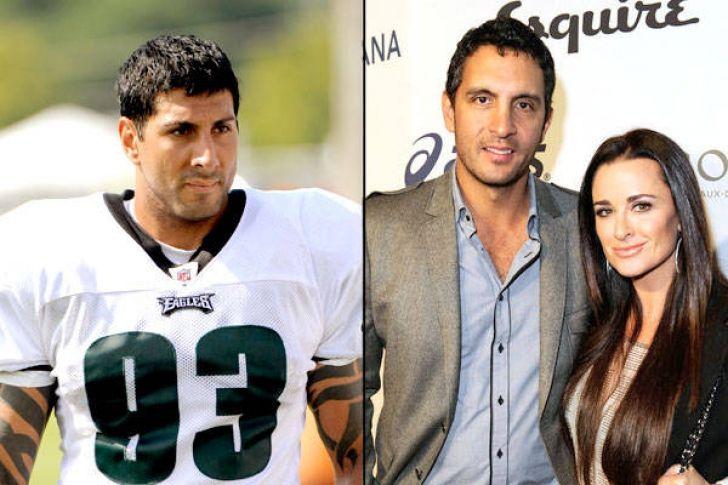Eagles DE Jason Babin and reality star Mauricio Umansky - Mirror mirror: NFL players and their celebrity look-alikes - FOX Sports Gallery