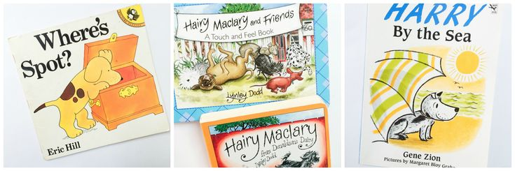 A round-up of 10 picture books about dogs.