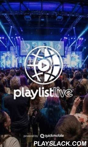 Playlist Live  Android App - playslack.com , Playlist Live is an annual three-day conference-style event for fans, creators and supporters of online video.Playlist Live began in 2011 and was created by District Lines, the home of thousands of official stores for online video creators.