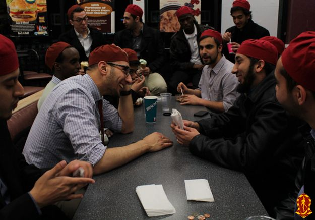 10 Things You Might Not Know About America's First Muslim Fraternity ---- University of Texas-Dallas' Alpha Lambda Mu—or Alif Laam Meem—started with an inaugural 17 members in February and are having their first rush week this month. | 10 Things You Might Not Know About America's First Muslim Fraternity