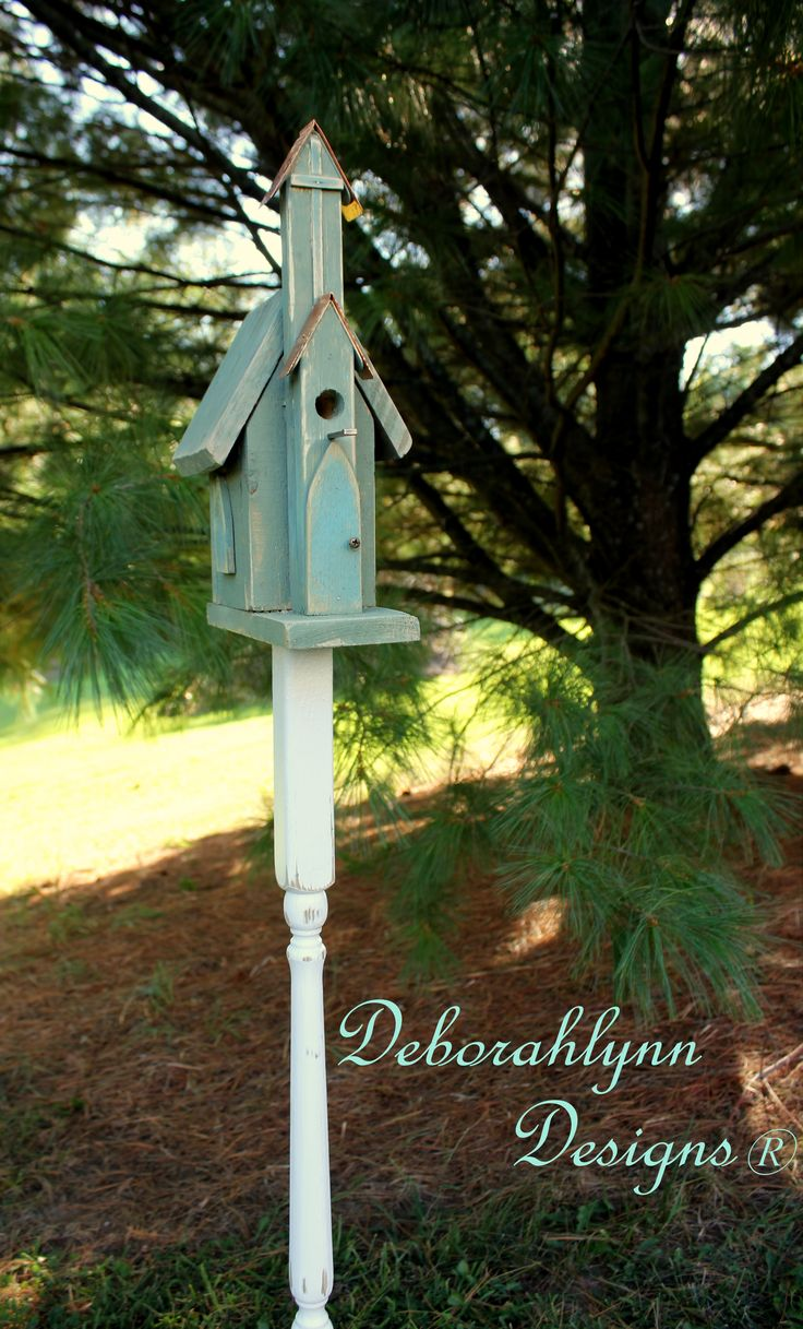 Wing and a Prayer Country Chapel birdhouse