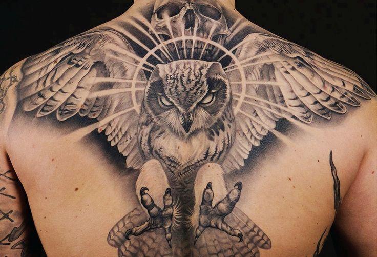 Memorizing owl by Johan Finné #InkedMagazine #tattoos #inked #tattoo #art #owl #ink #bird #stream