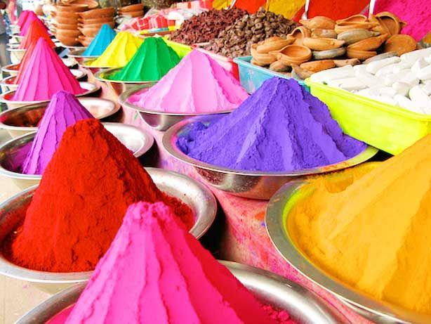Indian Holi Color Festival Powder
